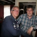 Michael und Johann im Eastbank Hotel Rothes
