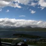 Panoramablick aufs Wasser