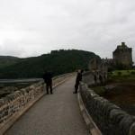 Brücke Eilean Donan Castle