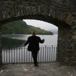 Heinz-Jürgen im Eilean Donan Castle