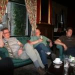 Jan, Günter und Bernhard