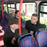 Busfahrt in Edinburgh 28-07-2012