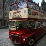 Edinburgh Mac Tours Bus